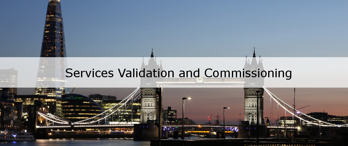 Services Validation and Commissioning