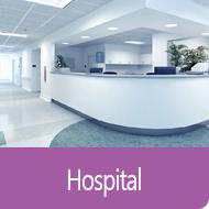 Hospital facilities management icon image